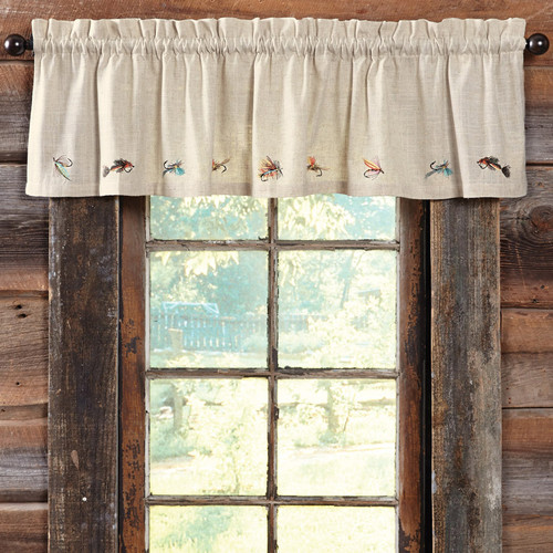 Fly Fishing Valance - OUT OF STOCK UNTIL 1/7/2022