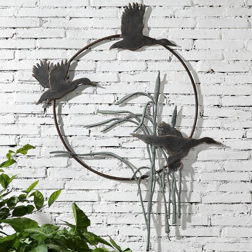 Flying Ducks Wall Art