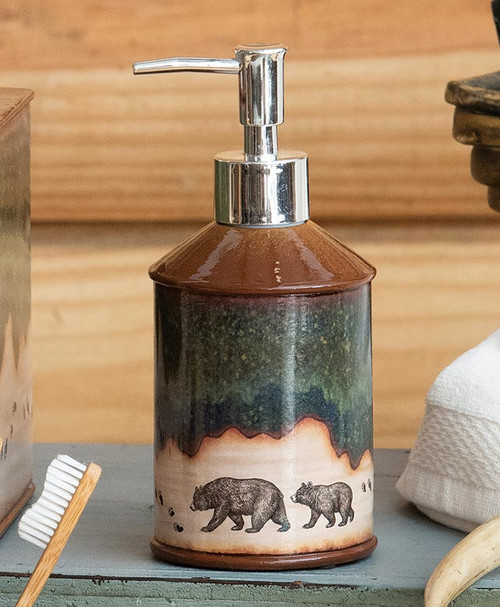Forest Bear Lotion Pump