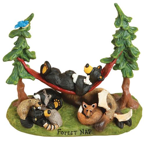Forest Nap Figurine