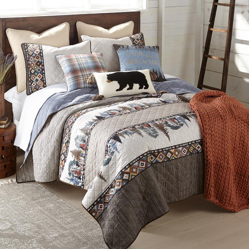 Forest Reflections Quilt Set - King