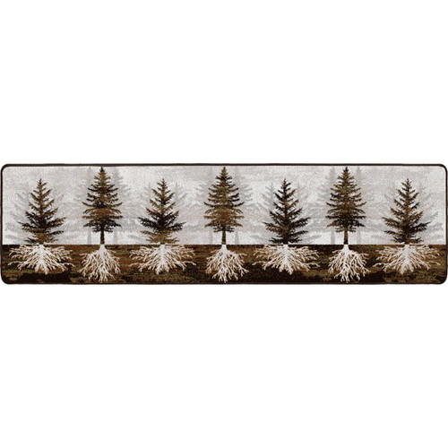 Forest Roots Rug - 2 x 8