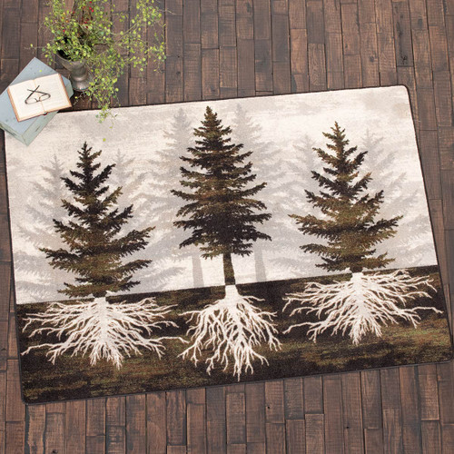 Forest Roots Rug - 5 x 8