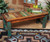 Old Wood Turquoise Bench