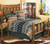 Mountain Forest Log Bed - King
