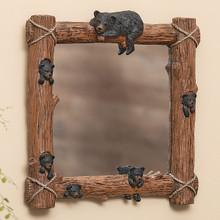 Climbing Bears Wall Mirror