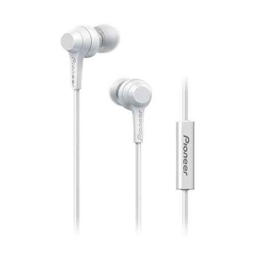 Auriculares Pioneer SSE-C1T-W White 3.5mm con microfono - ZTO-97021