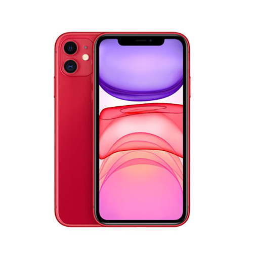 Apple iPhone 11 Rojo 64G (Libre) - CEL-IPH1164RD