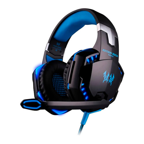 Auriculares gaming Speed Spider con luces led - CEL-AUGAMERBB