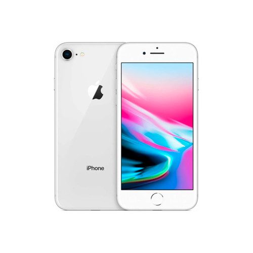 Apple iPhone 8 Refurbished Plata 256GB (Libre) - CEL-IP8256SIRE