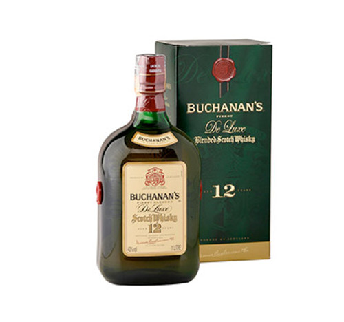 WHISKY ESCOCES BUCHANANS 12 AOS 1 LITRO - IBP-1953