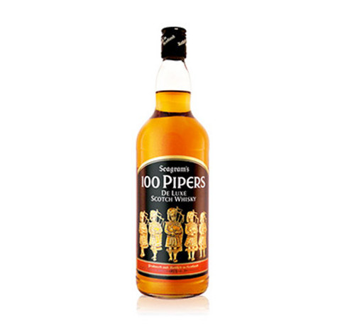 WHISKY ESCOCES 100 PIPERS 1 LITRO - IBP-658