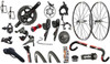 Redline Conquest Flight Disc SRAM Force 1 equipped Carbon Bicycle - Build It Your Way