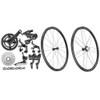 Campagnolo Record Rim Ergo 12 Speed Groupset with Wheelset - 500
