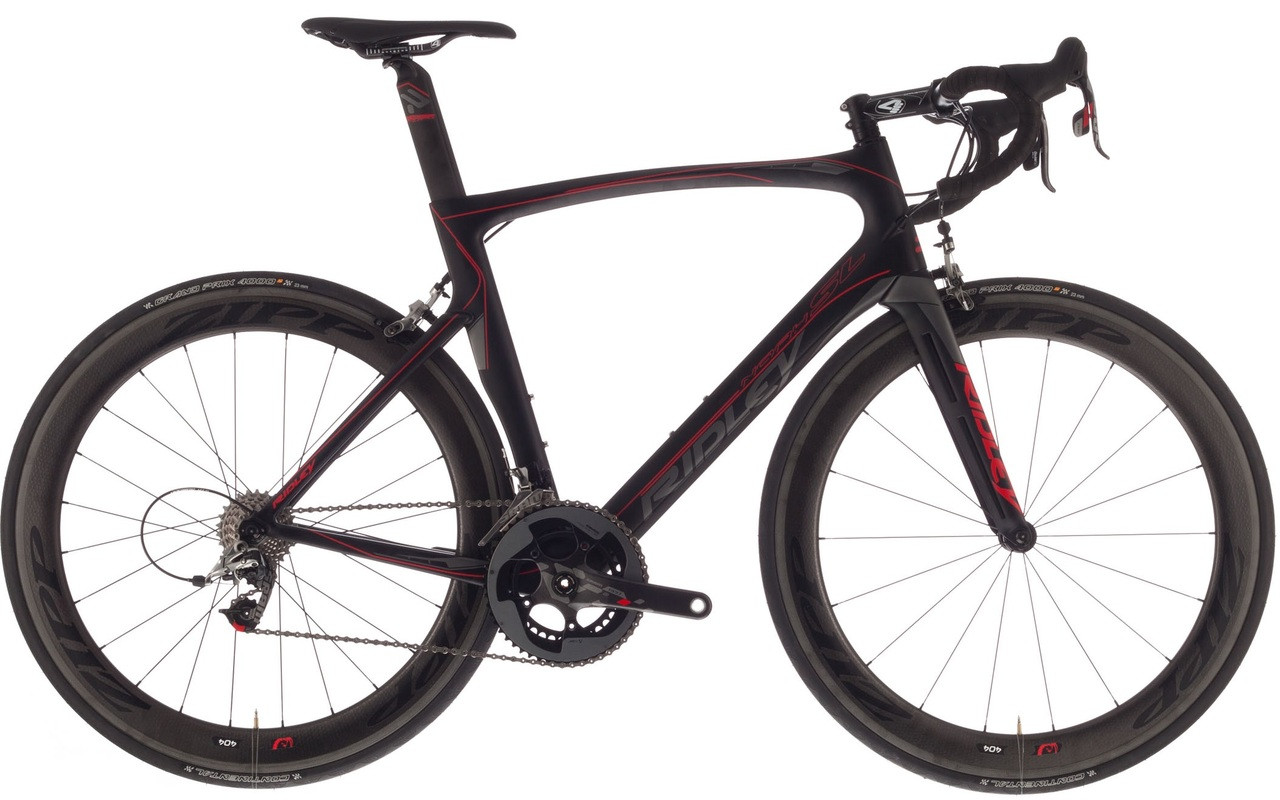 2f7c9c6bb66 Ridley Noah SL Shimano Di2 equipped Carbon Bicycle, Black & Red Accents -  Build It