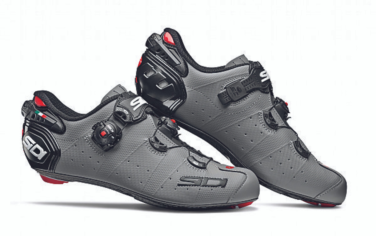 Yellow Fluo // Black New SIDI Wire Carbon Push Road Bike Bicycle Cycling Shoes