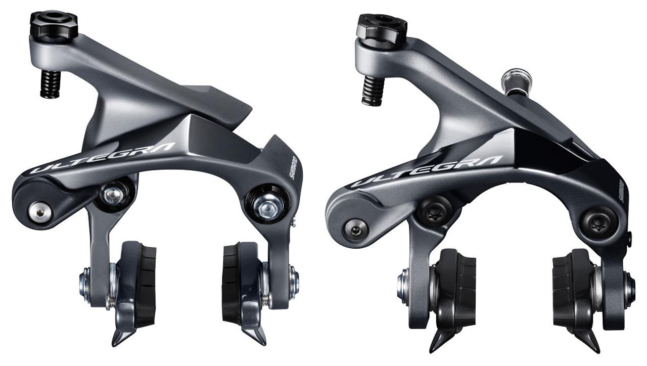 NEW Shimano Ultegra BR-R8000 Road Bike Rim Brake Calipers and Pads Front /& Rear