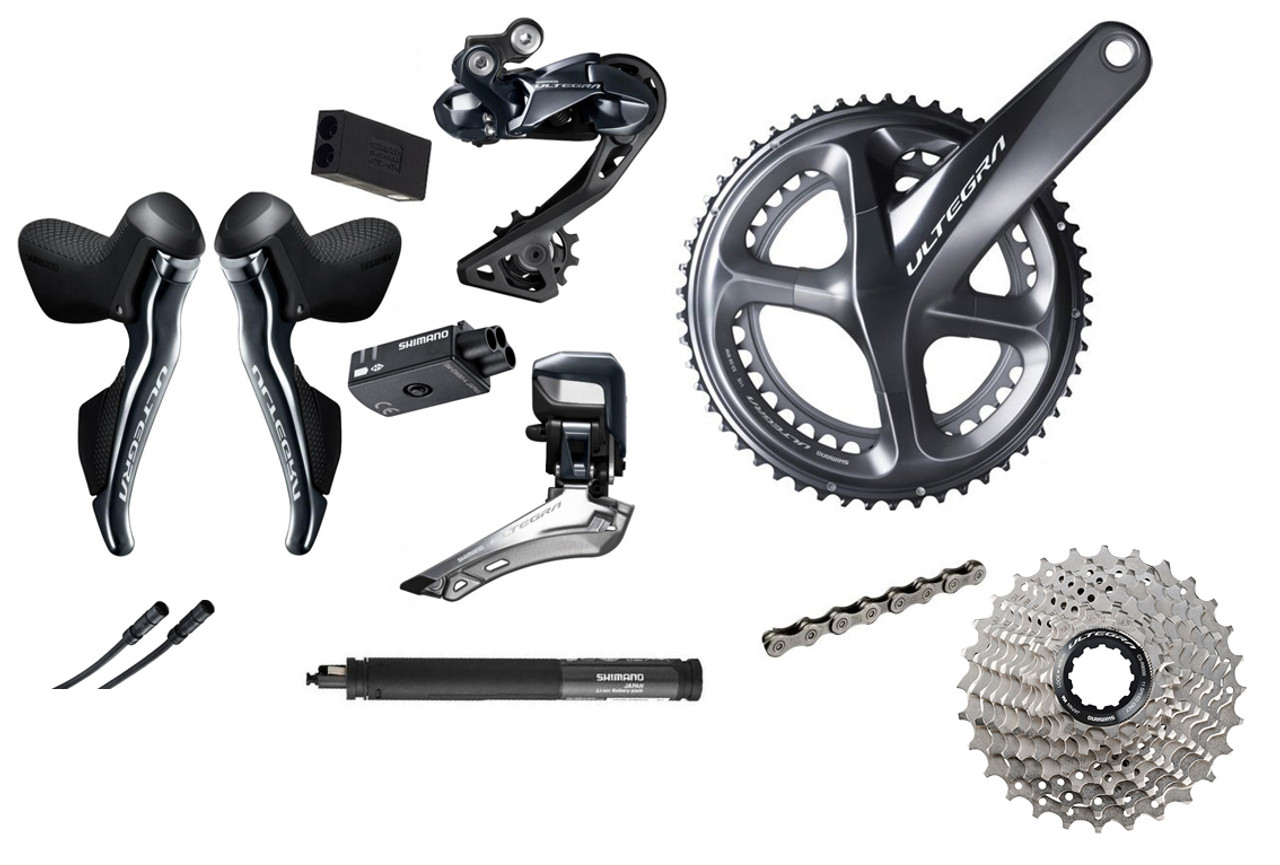 Shimano Ultegra R8070 Hydraulic Di2 Groupset (less calipers)