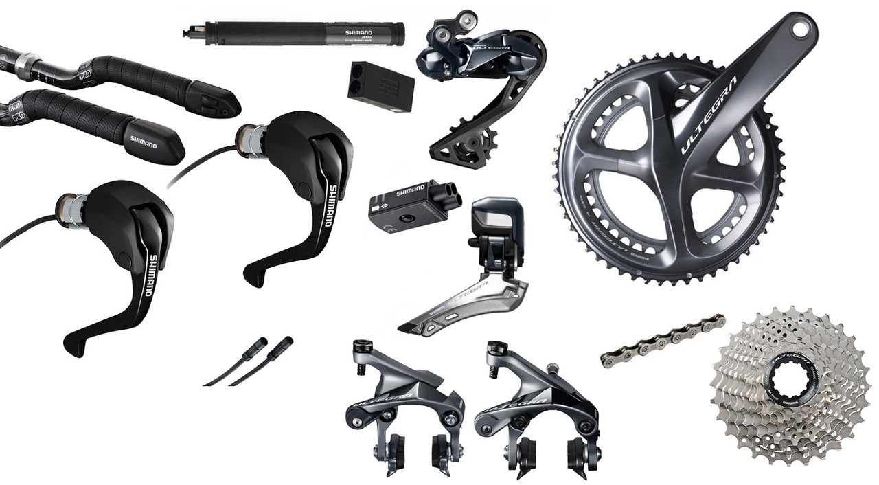 3f3813ca3a5 Texas Cyclesport Shimano Ultegra R8060 Di2 Time Trial Groupset SUL ...