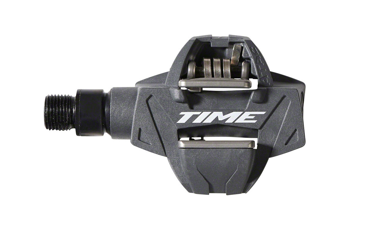 Time ATAC XC 4 Mountain Bike Pedals Dual Sided Clipless Composite WITH CLEATS
