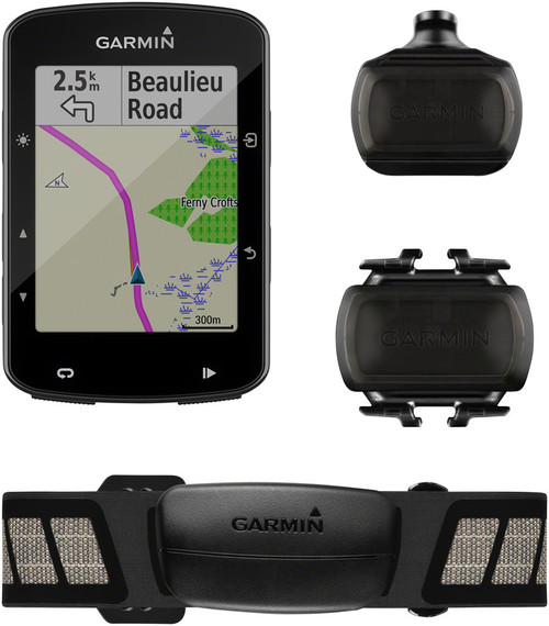 Garmin Edge 520 Plus GPS Cycling Computer Speed/Cadence Bundle
