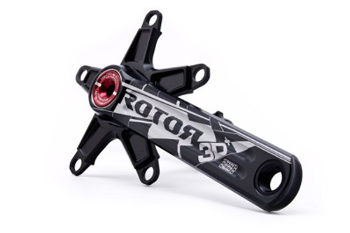 Rotor 3D Plus 10 and 11 speed Crank with Optional Chainrings