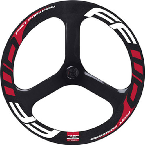 Fast Forward Carbon 3 Spoke Aero Front Wheel