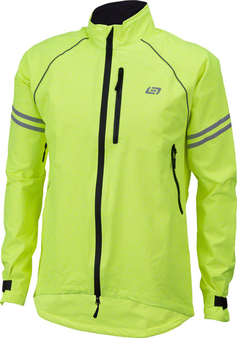 Bellwether Aqua-No Mens Rain Hi-Vis Jacket