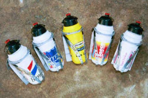 Elite Patao Water Bottle Cage and Bajiji Water Bottle
