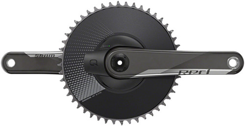 SRAM Red 1 AXS Power Meter Aero Crankset, DUB Spindle, D1
