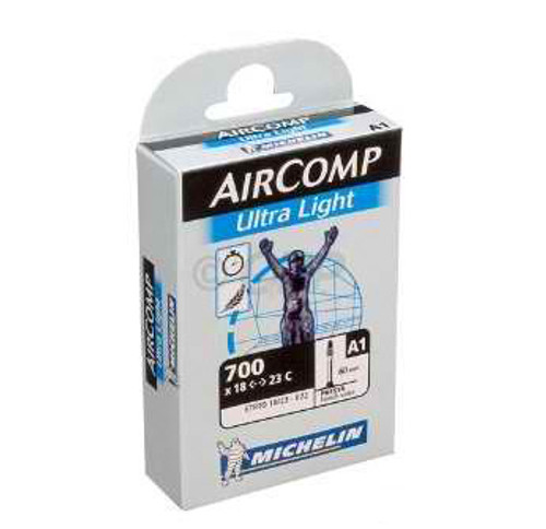 Airstop Ultra Light Butyl Road Tube by Michelin  40mm  52mm and 60mm