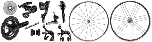 Campagnolo Chorus Rim Ergo 12 Speed Groupset with a Zonda Wheelset