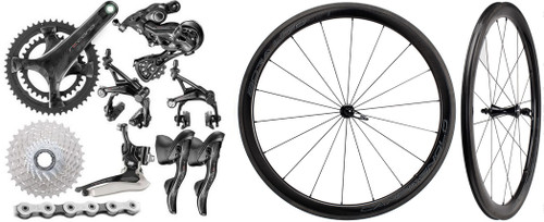 Campagnolo Record Rim Ergo 12 Speed Groupset with Wheelset