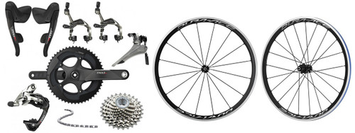 SRAM RED 22 Groupset with Shimano Dura-Ace R9100 C40 Wheelset