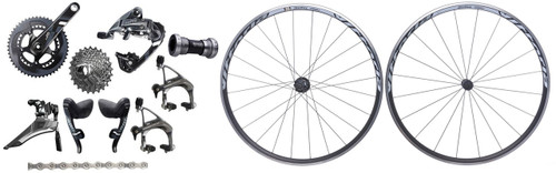 SRAM Force 22 Groupset with Vittoria Tactic Wheelset