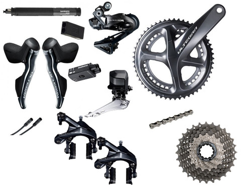 Shimano Road Di2 Bike Build Kit