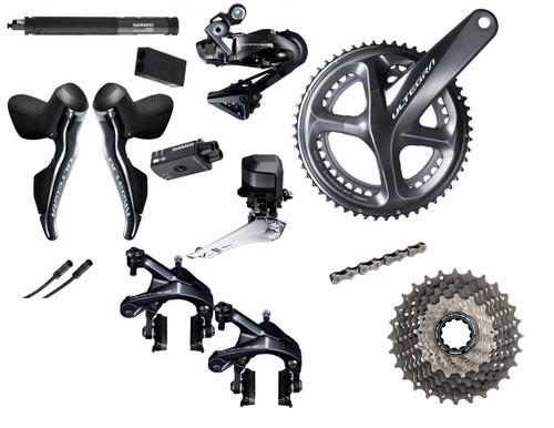 Shimano Road Di2 Bike Build Kit