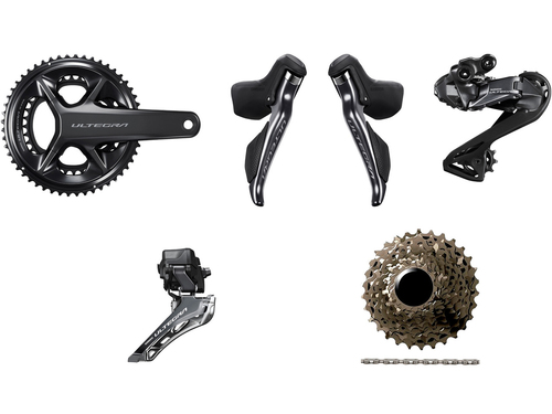 Shimano Ultegra R8150 Di2 Groupset (less calipers) without Power Meter