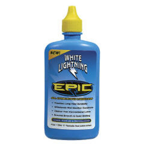 White Lightning Epic Lube  4 oz. Bottle