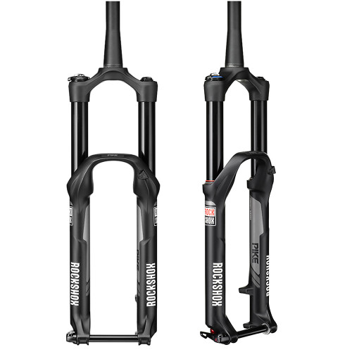 """Rock Shox Pike RCT3 29"""" Solo Air 140mm Black Suspension Fork"""