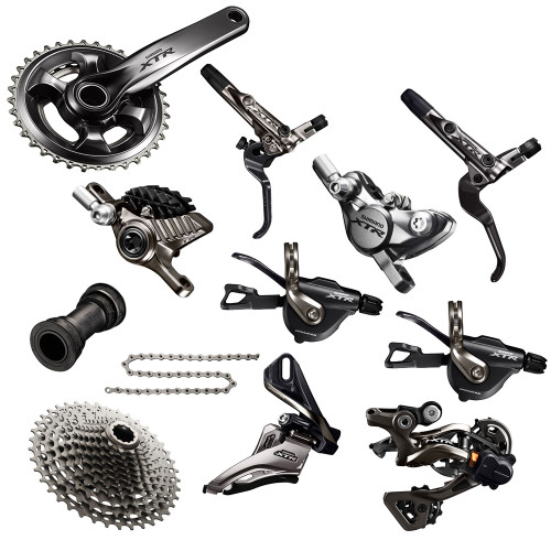 Shimano XTR 9000 Groupset with M9020 Chainrings   Trail