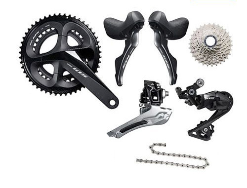 Shimano 105 R7000 STI Groupset (less calipers)