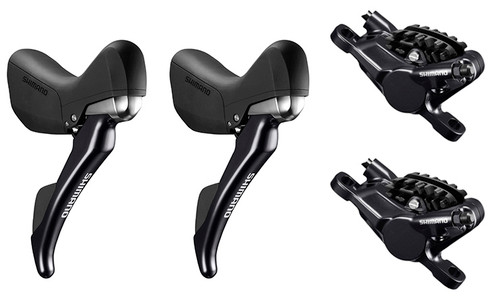Shimano ST-RS685 Hydraulic STI Levers, Hoses and BR-RS785 Brake Calipers