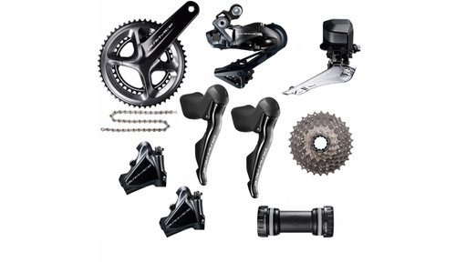 Shimano Dura-Ace R9170 Hydraulic Flat Mount Di2 Groupset
