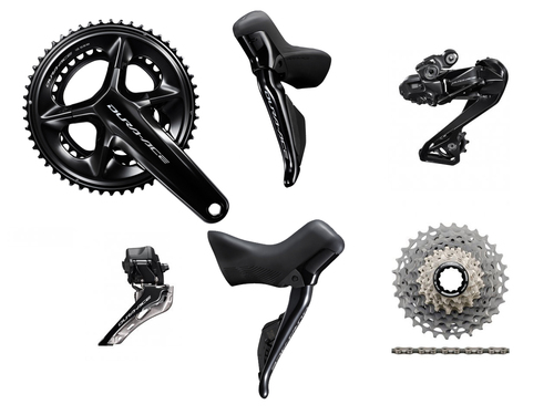 Shimano Dura-Ace R9270 Hydraulic Di2 Groupset (less calipers) - without Power Meter