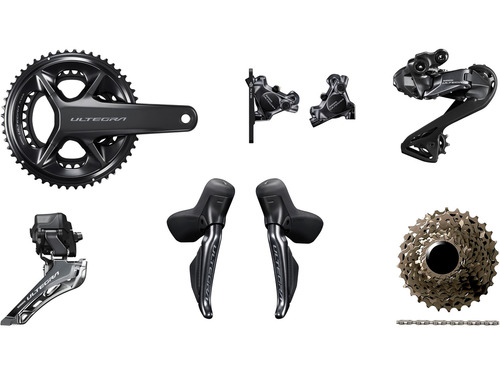 Shimano Ultegra R8170 Hydraulic Di2 Groupset - without Power Meter