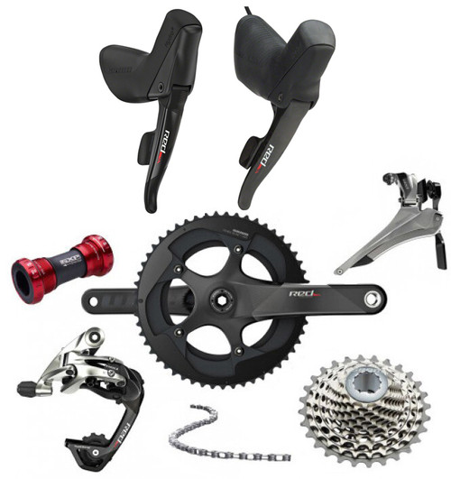SRAM RED 22 Hydraulic Flat Mount Groupset (less calipers)