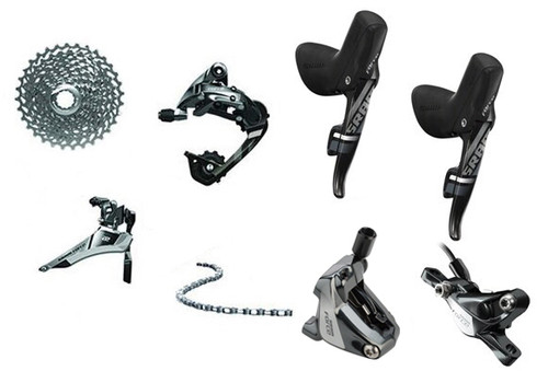 SRAM Force 22 Hydraulic Flat Mount 6 piece Upgrade Kit