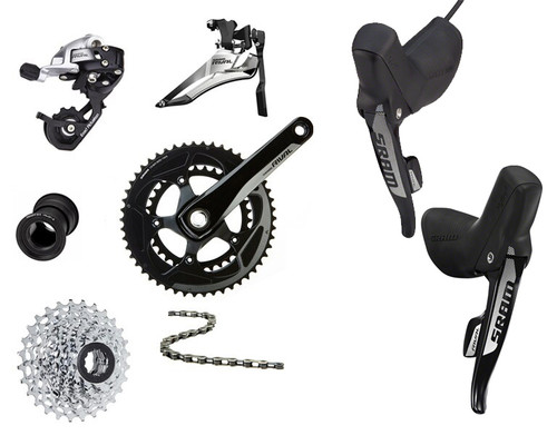 SRAM Rival 22 Hydraulic Groupset (less calipers)