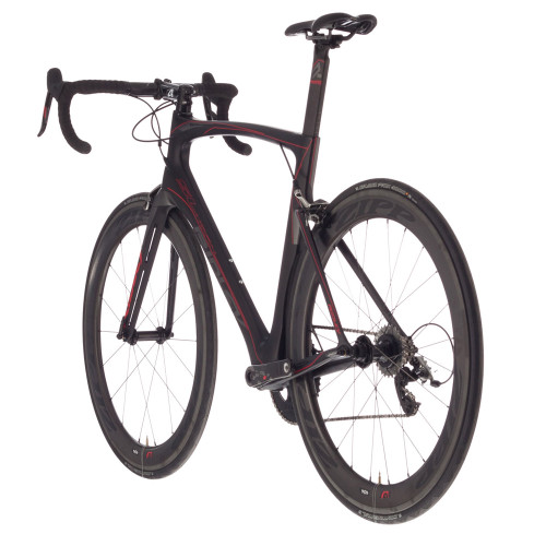 2f54c582d7a ... Ridley Noah SL Shimano Di2 equipped Carbon Bicycle, Black & Red Accents  - Build It ...
